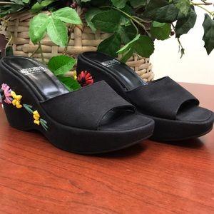 Moschino Shoes - Moschino Wedge Sandals